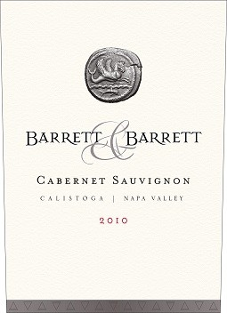 2010 Barrett and Barrett Cab Sauv Magnum